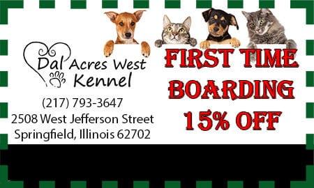 first time boarding coupon springfield il