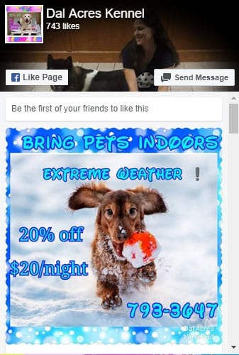 dal acres west kennel facebook springfield il